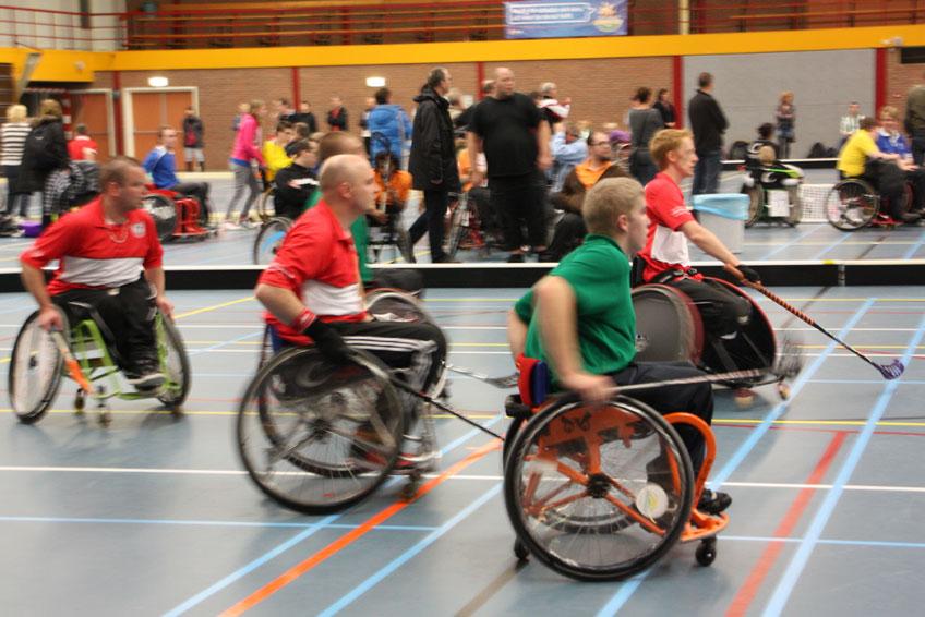 rolstoelhockey haarlem overveen