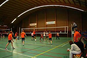 groepsuitje bedrijfsuitje volleybal