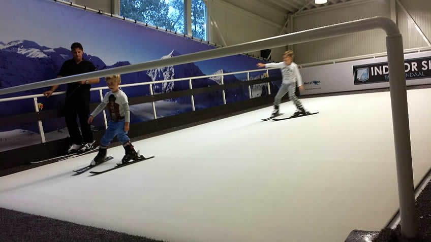 indoor skien bloemendaal